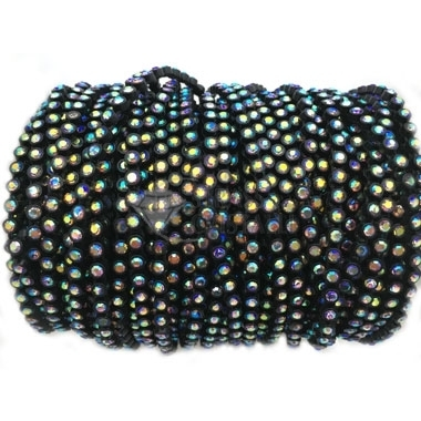 GALLON STRASS NERO SS8 AB