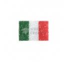 APPLICAZIONE STRASS BANDIERA ITALIA