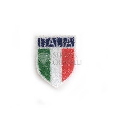 APPLICAZIONE STRASS SCUDETTO ITALIA