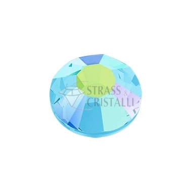STRASS FLAT BACK AQUAMARINE AB