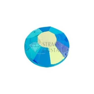 STRASS FLAT BACK BLUE ZIRCON AB