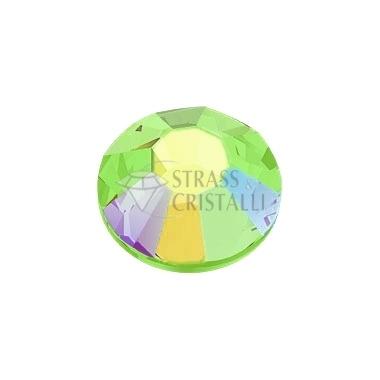 STRASS FLAT BACK PERIDOT AB