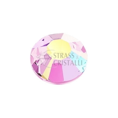 STRASS FLAT BACK LIGHT ROSE AB