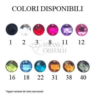 OTTAGONO GRIGIO/BLACK DIAMOND ACRILICO CON FORI