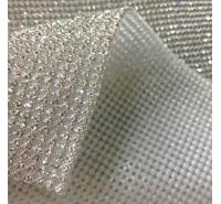 Foglio adesivo strass metal mesh