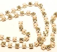 Catena strass e perla