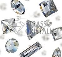 Pietre in cristallo con fori